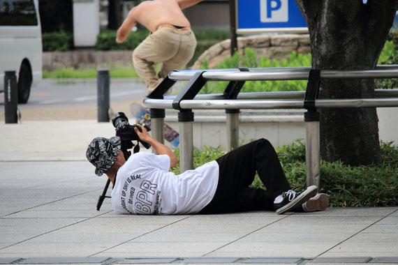 フリースタイル スケートボーダー ツカサ スケボー
