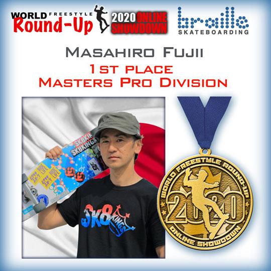 Masahiro Fujii スケボー