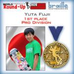 Yuta Fujii 優勝!