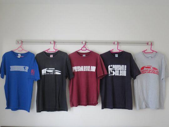 FScom歴代Tシャツコンプリート