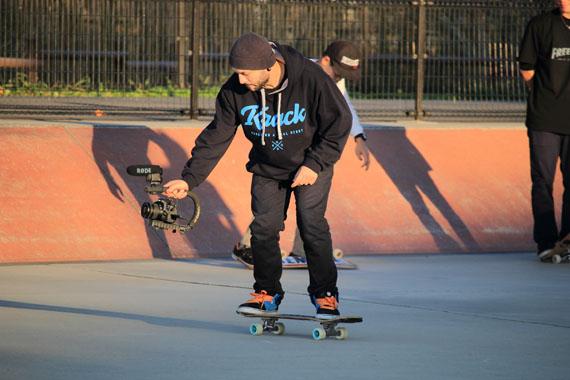 Marius Constantin Freestyle Skateboarder