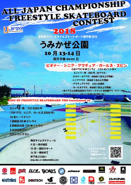 全日本フリースタイルスケートボードコンテスト
