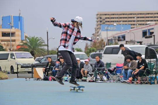 JUN - Risa Matsui ガールズフリースタイルスケートボーダー