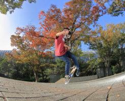 フリースタイル スケートボードのトリックMF Casper