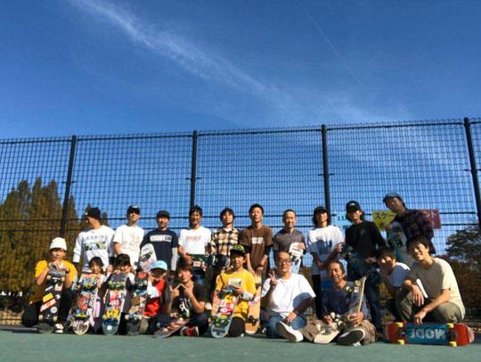 名古屋フリースタイルスケートボードの会