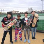 江戸川水辺のスポーツガーデン スケボー イベント