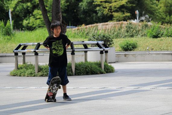 シド君 フリースタイル スケートボーダー