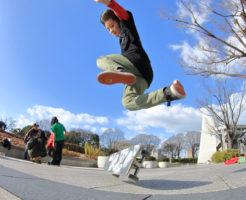 Yuzuki Kawasaki freestyle skateboader in JAPAN