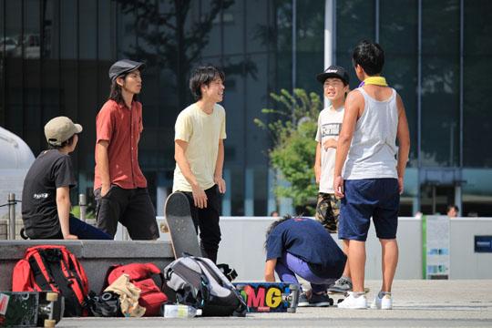 名古屋フリースタイルスケートボードのメンバー