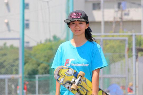長久ゆうり ガールズ スケートボーダー
