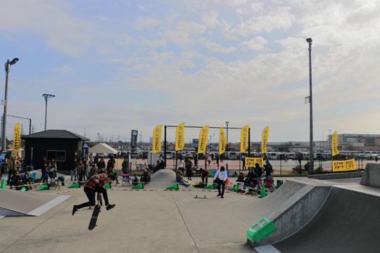 市原フリースタイルスケートボードコンテスト  光石研が出場するはずだった!