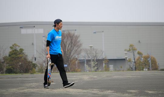 FScomライダーYuta Kikuchi フリースタイルスケートボーダー