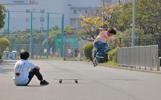 スケボーのライバルIkkei&Yuta