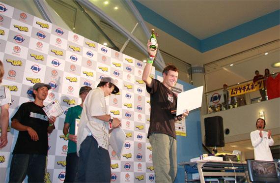 2009世界大会でグンター・モクリス 優勝