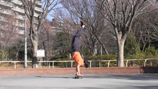 ハンドスタンドフリップ Yuta Fujii 藤井 裕大