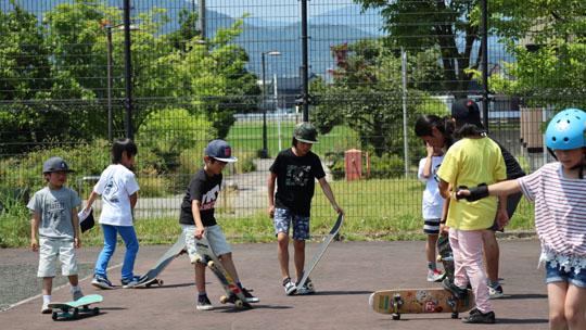 山形 スケボー練習会