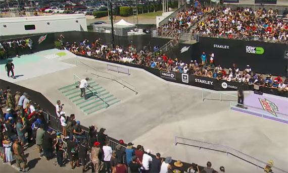 オリンピック競技ストリートのイメージ