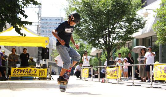 シニアクラス スケートボーダー 高垣