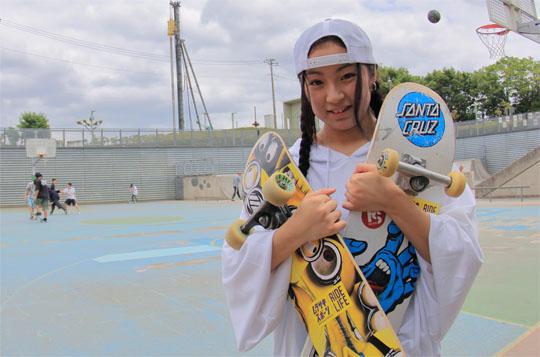 川村優衣 | ガールズ スケートボーダー フリースタイル スケーター