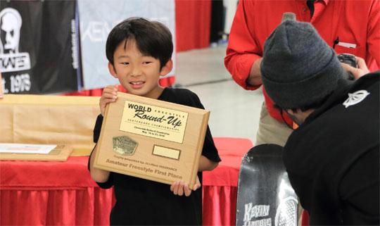 Yuzuki Kawasaki WorldRoundUp 1st Place